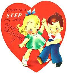 swing dance 1940s Valentine