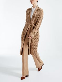 Cardigan in lana e cachemire