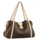 The bag offers space and utility along with a double security of a zipper closure and a slip-in clasp lock.