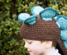Stegosaurus #Crochet Hat