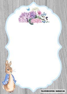 Beatrix POTTER personalizzato Battesimo Baby Shower GLOSS Party Bag ADESIVI