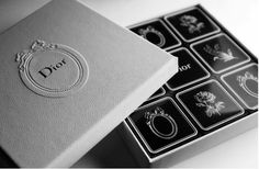 Dior Chocolates - beautiful thank you gift for your Bridesmaids and/or guests