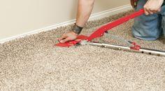 Stretch Method For Carpet Installation