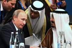 Talks have centered on persuading President Vladimir V. Putin to stop backing the Syrian president, officials said, in return for moves to raise the price of oil, which could bolster Russia's economy.