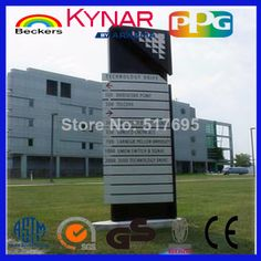 Outdoor advertising board--Signage Board--bill board--advertising supplies----Aluminum composite panel $22.00