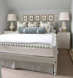 pillows Urban Grace Interiors // Reid Classics