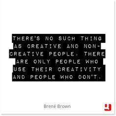 #brenebrown #creativity