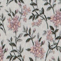 Bomuld+grå+m+rosa+blomst