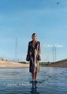 Kate Moss, Grace Coddington and Margot Robbie for NEW CALVIN KLEIN CAMPAIGN