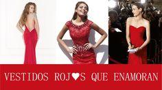 ¿Te gustan los vestidos de fiesta rojos? #trajesdenoche #vestidosdefiesta #invitadas #tendencias #moda #rojo #red #HispaBodasTV
