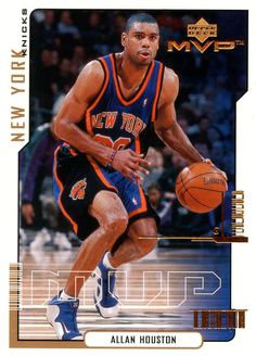 Kicks on Cards  The Collection    Featuring Allan Houston in the Nike Air  Flightposite bd42ee978