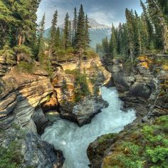 """35 Entries from the National Geographic Photo of the Year Contest  """"Athabasca Canyon"""""""