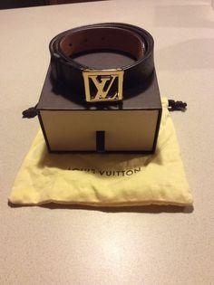 Louis Vuitton Monogram Skinny Belt Women S   eBay Skinny Belt, Louis  Vuitton Monogram, Belts a30af69a176