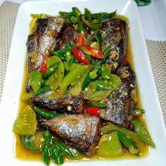 Resep masakan harian Ramadhan instagram Healthy Vegetable Recipes, Healthy Meals For One, Healthy Vegetables, Good Healthy Recipes, Healthy Chicken Recipes, Fish Recipes, Seafood Recipes, Cooking Recipes, Cooking Food