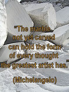 Coaching Quote of the Day from Coaching Confidence, the coaching blog http://www.coachingconfidence.co.uk/the-marble-not/