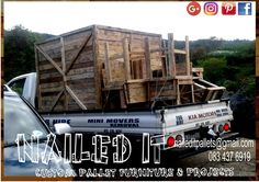 Another order done & dusted #naileditpalletfurniture #palletfurnituredurban #palletwoodfurniture #custompalletfurniture #custompalletwoodfurniture