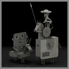 Don Quixote by Matias Trillo