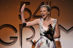 Don't be surprised if Taylor Swift walks home with quite a few more Grammys on Monday.
