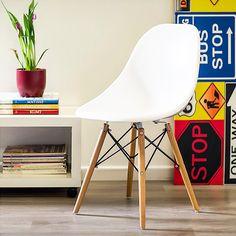 Su diseño la hace muy compatible con distintos tipos de ambientes. #Sodimac #Homecenter #Muebles #Sillas #Decoración