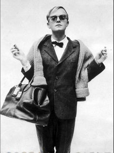 Truman Capote by Richard Avedon, 1958.