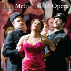 The Metropolitan Opera: 2012 Wall Calendar by Metropolitan Opera. $34.52. Publisher: Universe Publishing; Wal edition (September 9, 2011)