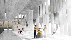3r Premio: Simón Francés + Arturo Alberquilla | Concurso Mercado de La Laguna | HIC Arquitectura