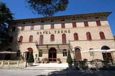 HOTEL TERME SARNANO - favorite hang out for a cappuccino, gelatto or pizza!