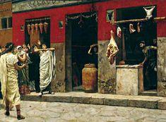 Romano Impero: LA TABERNA ROMANA
