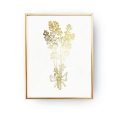 Lavender Print, Real Gold Foil Print, Botanical Print, Gold Lavender, Wall Art, Wall Decor, Botanical Decor, Bedroom Decor, Provence Prints. Every poster is designed with love by us. We make it beautiful by adding shining gold or silver foil finish handmade to our prints.