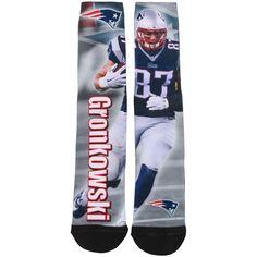 cdec54b1d Men s New England Patriots Rob Gronkowski For Bare Feet Drive Sock