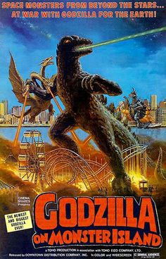 Godzilla On Monster Island - 1972 - Movie Poster
