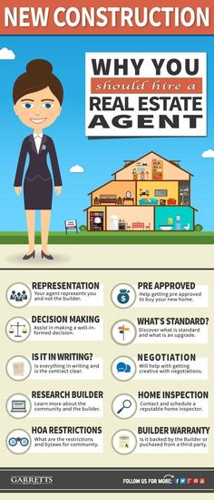 Thinking about building a new home? Learn why it may be in your best interest to hire a real estate agent when buying a new construction home. #realestatebranding #howdoibecomearealestateagent