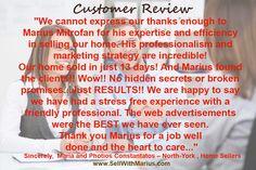 Customer Review of @MariusMitrofan RE/MAX Realtron Realty Inc. Brokerage