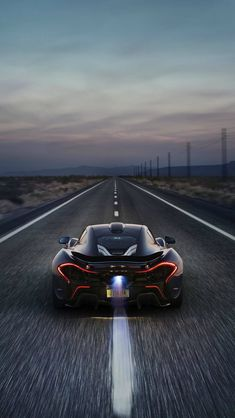 iPhone 5 McLaren P1   iPhone & iPad Wallpaper