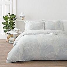 image of marimekko® Vuorilaakso Duvet Cover Set in Grey