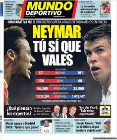 Los Titulares y Portadas de Noticias Destacadas Españolas del 4 de Septiembre de 2013 del Diario Mundo Deportivo ¿Que le pareció esta Portada de este Diario Español?