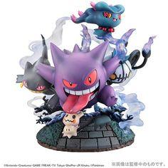Pokemon Moncolle figure Tomy Shiny Gengar LOT OF 8PCs