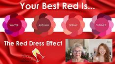 Whats The Red Dress Effect? | Wearing Red Attracts More Than Any Other C... Color Quiz, Color Me Beautiful, Free Coloring, Red Color, Attraction, Seasons, Make It Yourself, How To Wear, Dresses