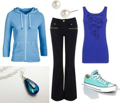 """""""Water Nation"""" by tnflute616 on Polyvore inspired outfit; Nerd Fashion"""