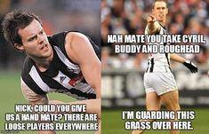 in every AFL game i swear. Football Memes, Sports Memes, Richmond Afl, Aussie Memes, Australia Funny, Funny Memes, Jokes, Hilarious, St Kilda