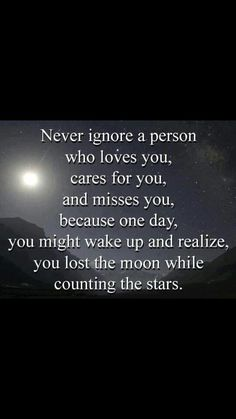 Love Quotes: Never ignore a person who loves you. [caption align=aligncenter Love Quotes: Never ignore a Me Before You Quotes, Now Quotes, Great Quotes, Quotes To Live By, Life Quotes, Inspirational Quotes, Daily Quotes, Motivational, Ignore Quotes