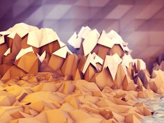 Captivating 3D Low-Poly Illustrations by Tim Reynolds