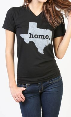 The new Texas Home V-neck by The Home T is insanely soft, a great way to show off your state pride, and helps to raise money for multiple sclerosis research. You'll love it! They have a shirt for every state.