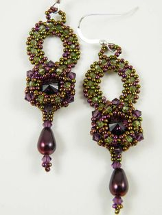 Bead Show: Bead Show Workshops & Classes: Wednesday June 5, 2013: B130583 Starlight Earrings
