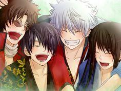 they are so beautiful when they smile >////< Gintama, Otaku Mode, Okikagu, Dark Lord, Light Novel, Fandom, What Is Like, Anime Love, Peace And Love