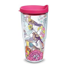 Tervis Sketched Birds Branches Tumbler, Multicolor