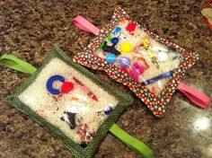Sensory bags for toddlers