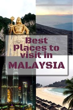 Malaysia is rich in history and nature, amazing architecture, street art, pristine beaches and much more. Here are the best places to visit in Malaysia for your bucket list.