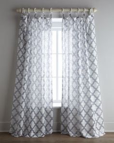 Softline Home Fashions 'Ambrosia' Sheer Curtains - Contemporary - Curtains - by Horchow
