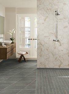 Dartrey™ Grey Tile & Bistro™ White Tile